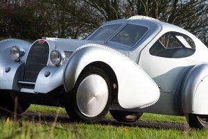 "Bugatti Type 68 ""Mini-Atlantique"", um dos mais belos mini-carros"