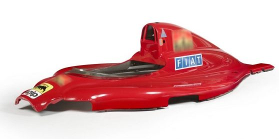 Artcurial vendeu carroçaria do Ferrari 641 conduzido por Alain Prost por 143 mil euros
