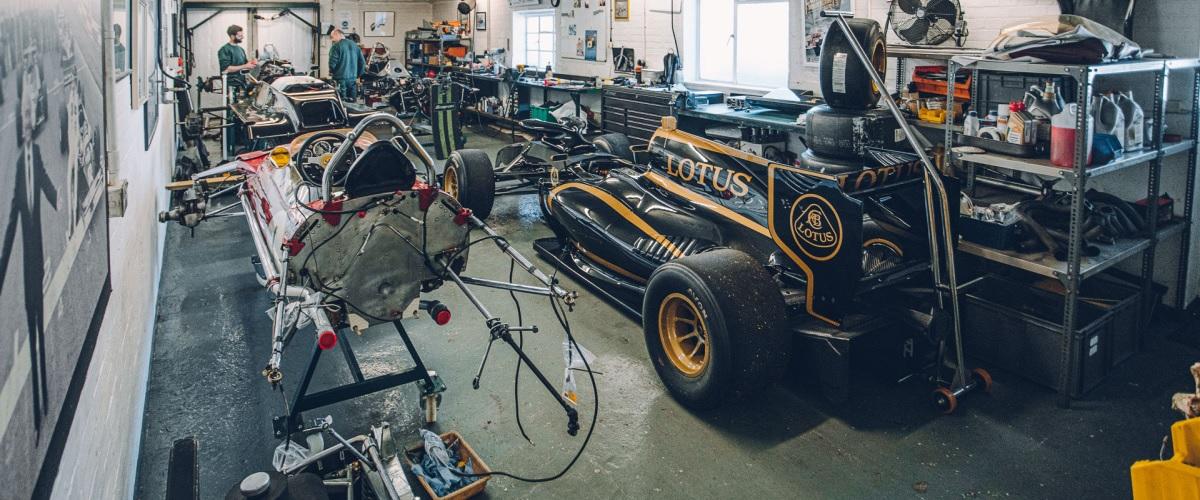 Classic Team Lotus, a pequena equipa que mantém os Fórmula 1 da marca activos