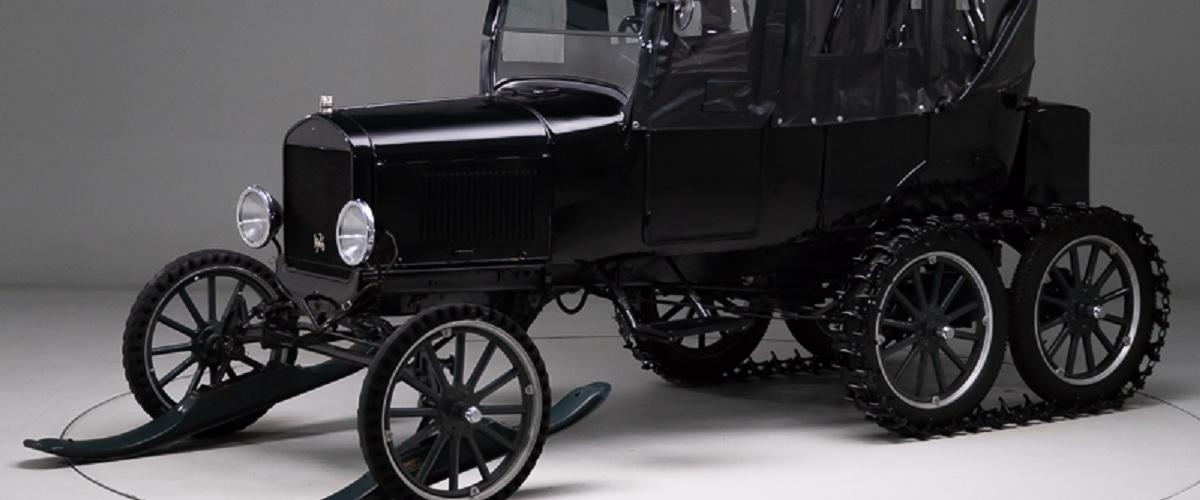 Raro Ford Model T Snowmobile de 1926 está à venda