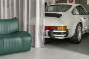 A poltrona inspirada pelos Mercedes-Benz dos anos 60