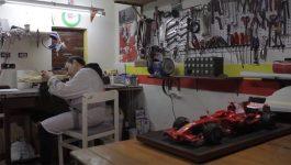 Umberto Galli, o criador de miniaturas Ferrari