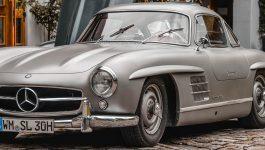 Mercedes-Benz 300 SL, um automóvel de sonho dos anos 50