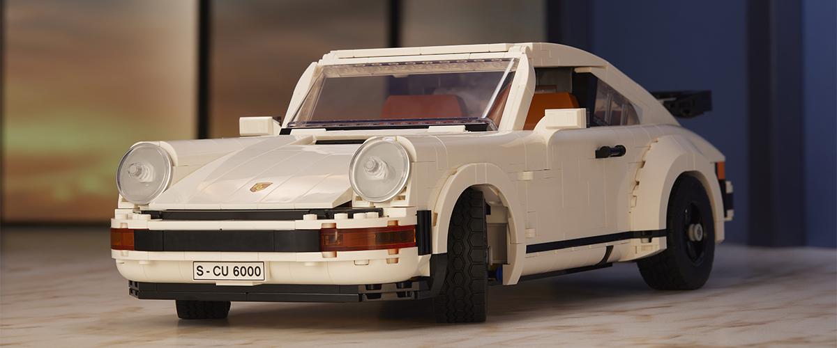 LEGO lança set dois em um do Porsche 911 Turbo e 911 Targa