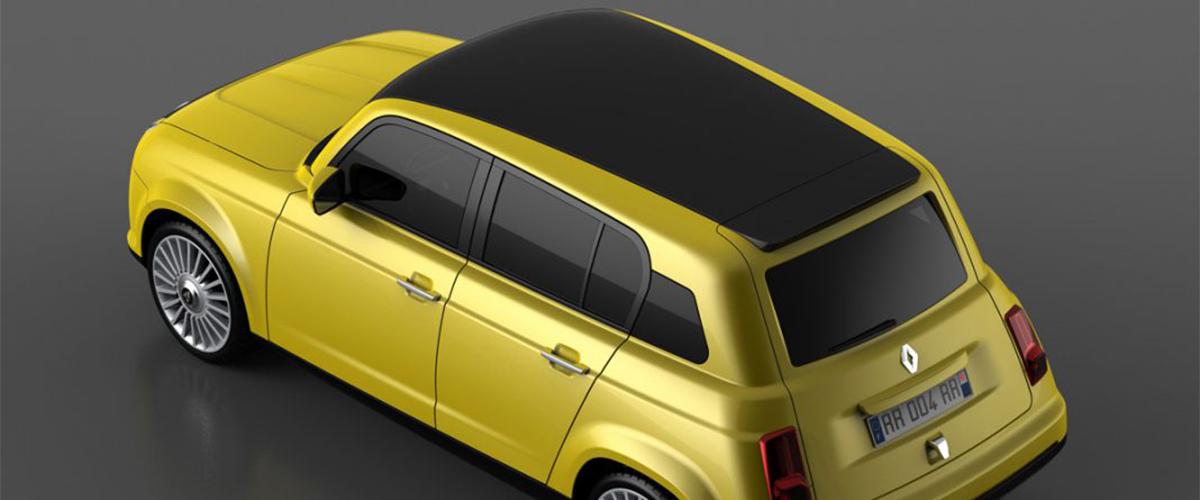 4L, o outro ícone que a Renault vai recuperar para a modernidade como EV