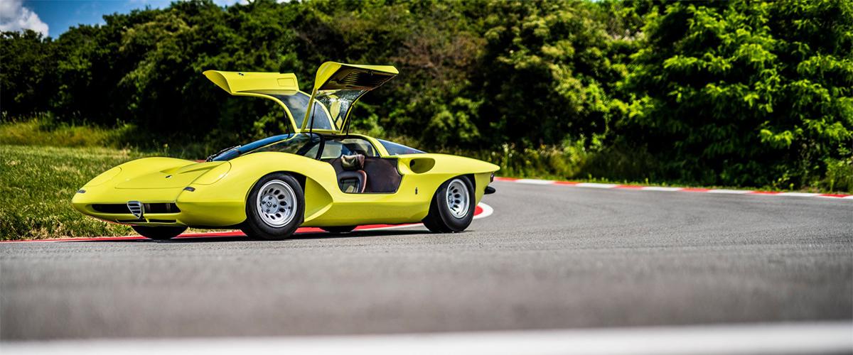 O Alfa Romeo 33/2 Coupé Speciale Pininfarina e uma visão diferente dos anos 70