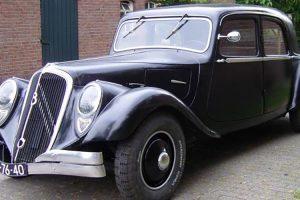 O enigmático Citroën Traction Avant 22CV V8