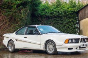 BMW 635CSi com o raro kit exterior da Koenig Specials vai a leilão