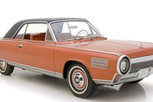 Raro Chrysler Turbine Car vendido na plataforma da Hemmings