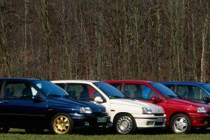 As versões mais raras e desportivas da primeira geração do Renault Clio