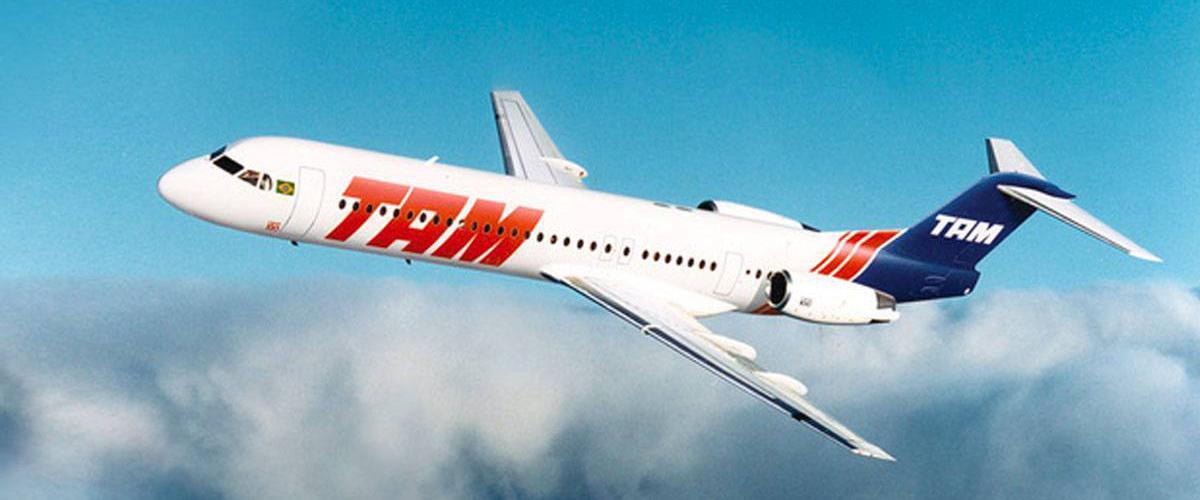 "O ""azarado"" Fokker 100"