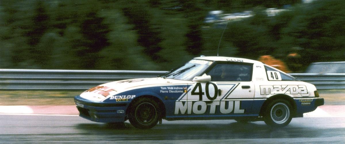 Quando o Mazda RX-7 entrou no campeonato britânico de automóveis de turismo