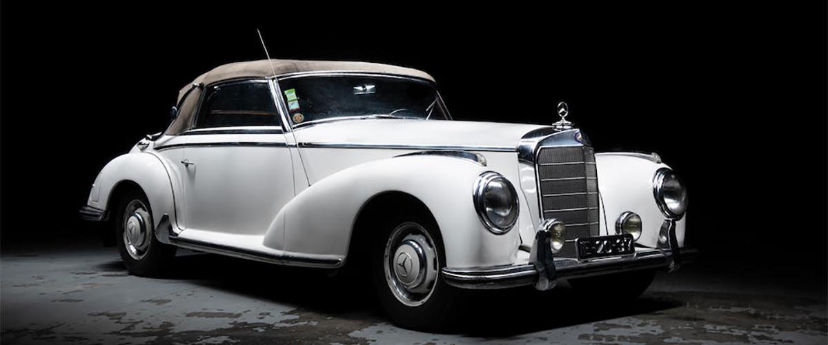 Mercedes-Benz 300 S Cabriolet A do diplomata Afonso Malheiro vai a leilão