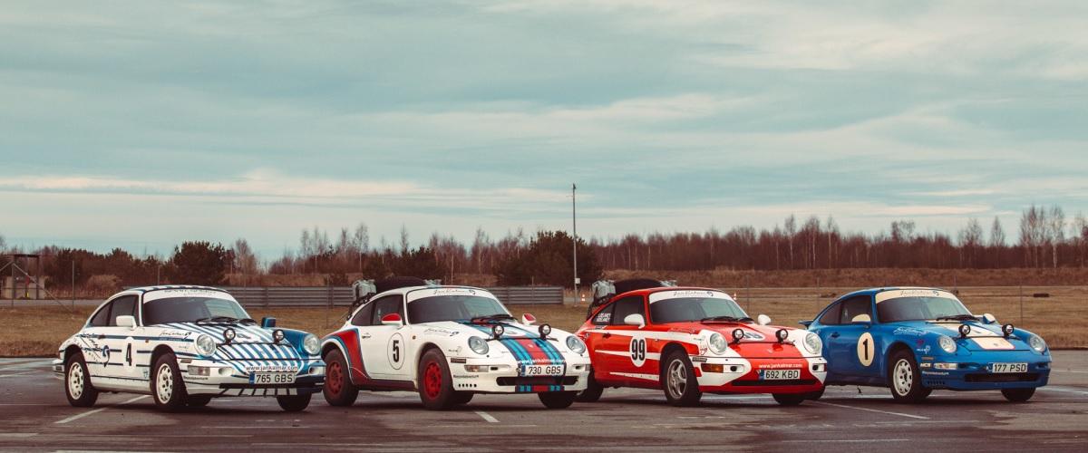 Os Porsche 911 restomod da Kalmar Automotive