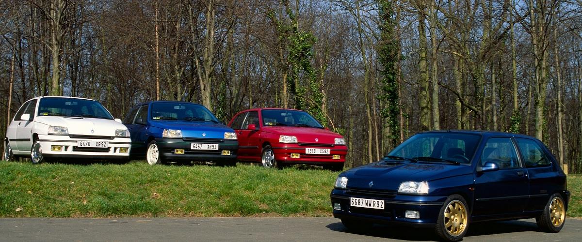Os mais musculados Renault Clio da primeira geração