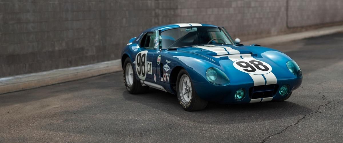 Shelby Cobra Daytona que pertenceu ao próprio Carroll Shelby vai a leilão