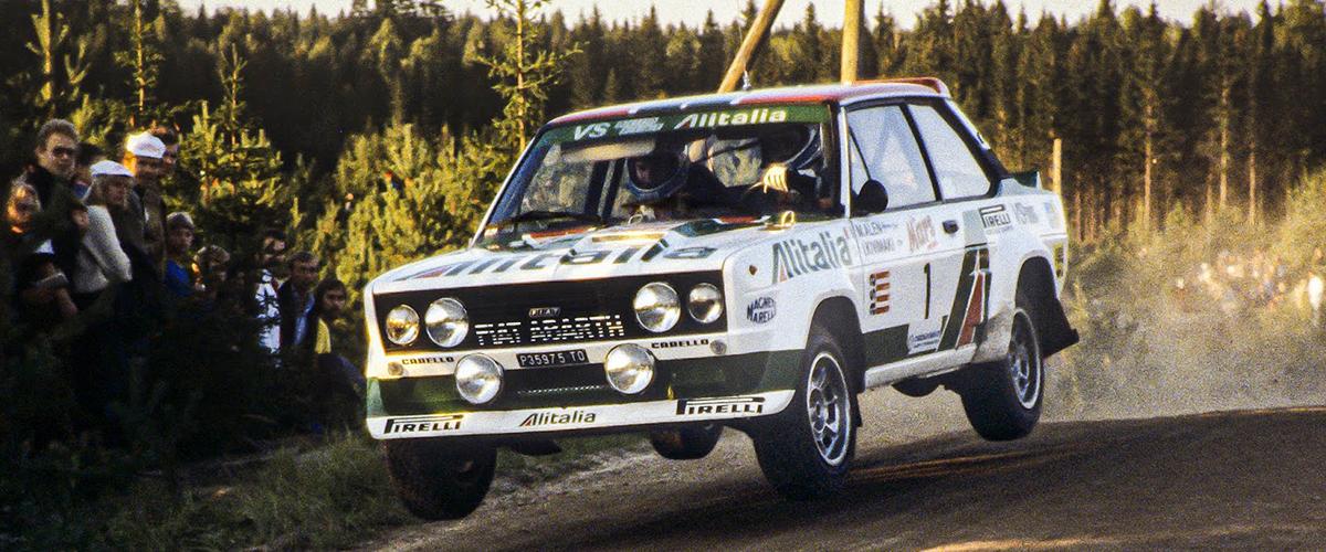 Fiat-Abarth 131 Stradale, um Escorpião em Santa Luzia