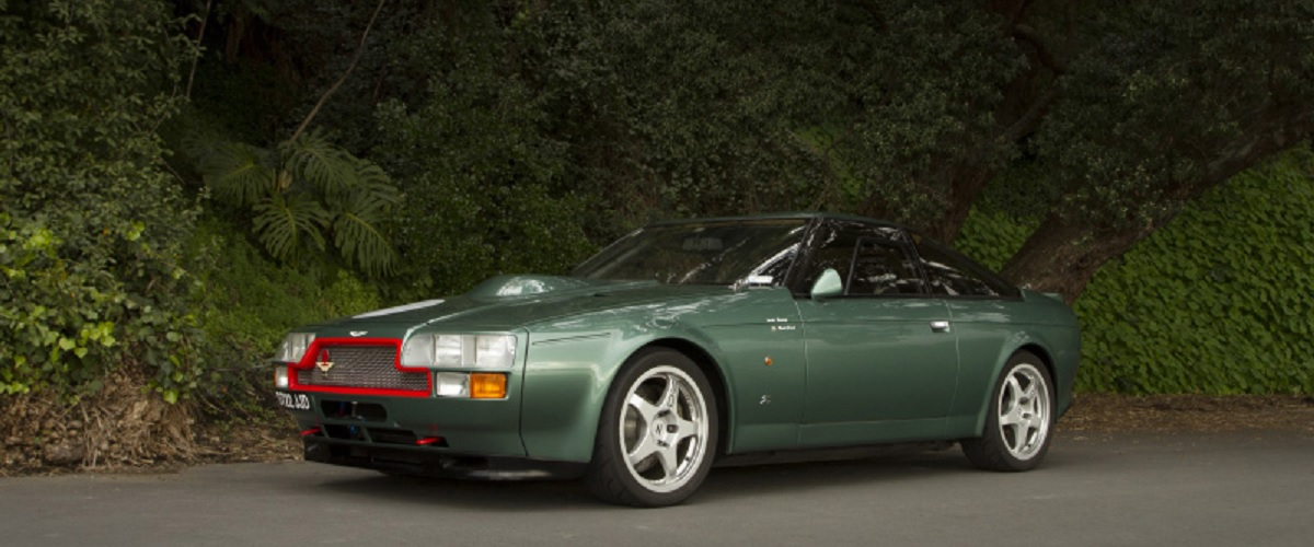 Aston Martin V8 Zagato, o improvável automóvel de competição