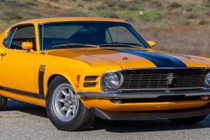 Ford Mustang Boss 302 de Parnelli Jones vai a leilão