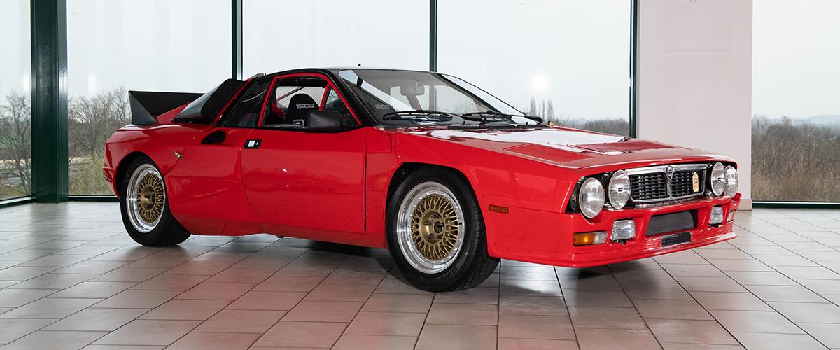 RM Sotheby's leva a leilão protótipo do Lancia Rally SE 037