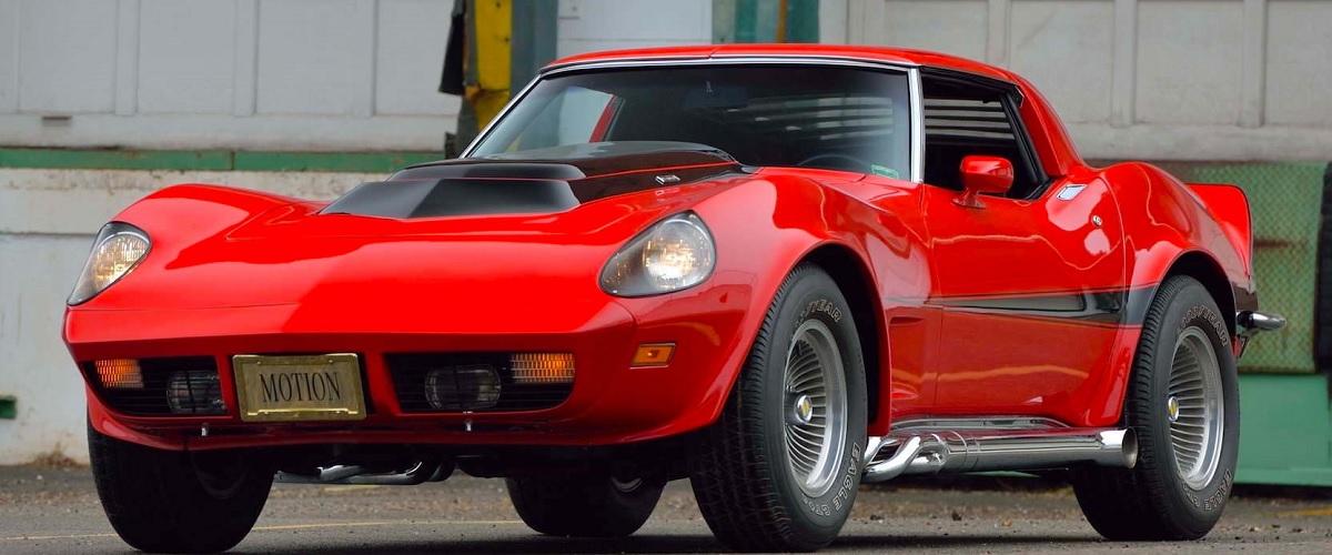 O único sobrevivente do Chevrolet Corvette Motion Performance Manta Ray GT vai a leilão