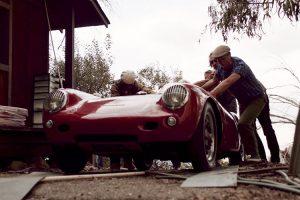Porsche 550 Spyder de 1955 redescoberto após 35 anos esquecido num contentor