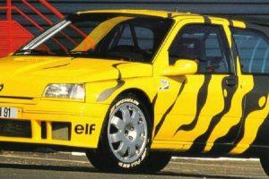 Renault Clio Maxi, o mais extremo dos Clio da primeira geração