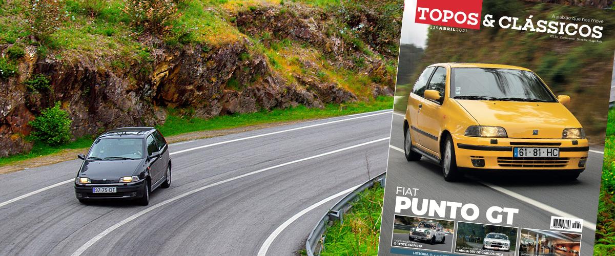 FIAT Punto GT em destaque na Topos & Clássicos