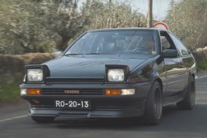 Toyota Corolla GT AE86, a necessidade de ter um automóvel único