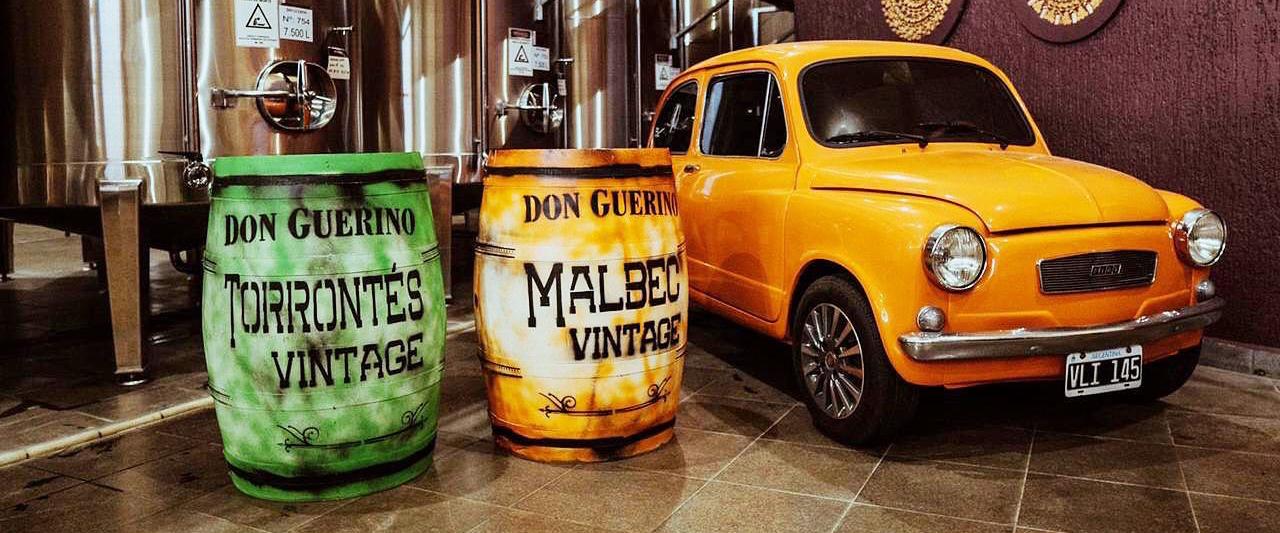 Automóveis e vinhos