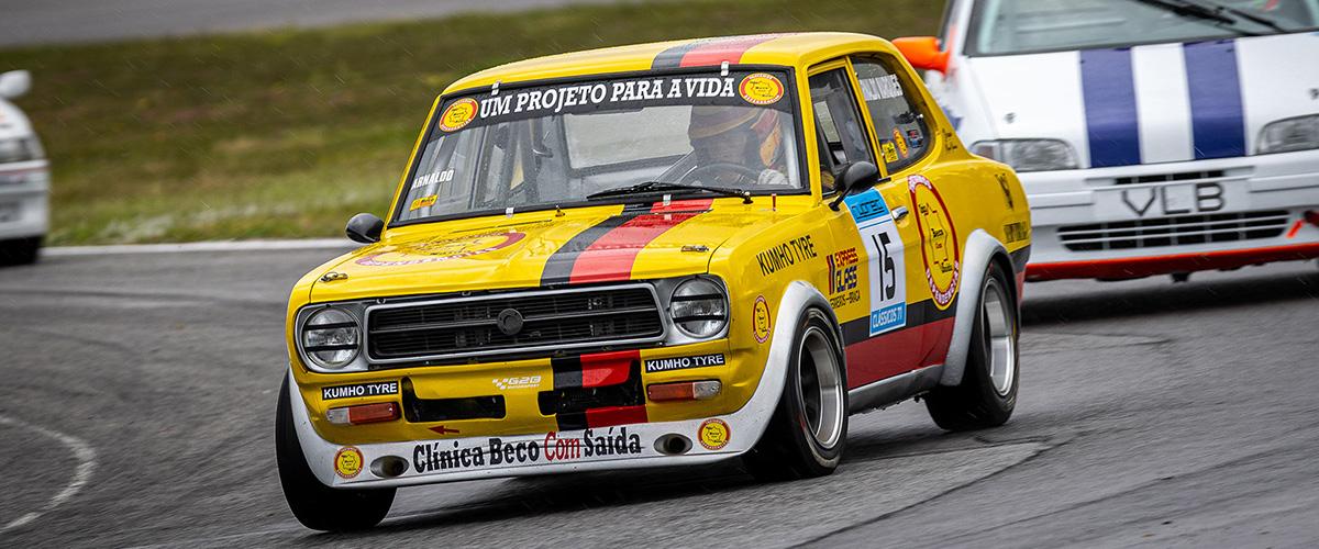Arnaldo Marques vence primeira prova do Campeonato de Velocidade 1300