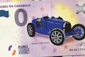 Museu do Caramulo lança edição colorida da nota coleccionável do Bugatti 35B