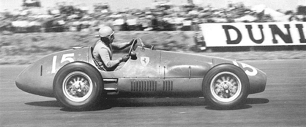 Ascari, o último grande piloto italiano de Grand Prix