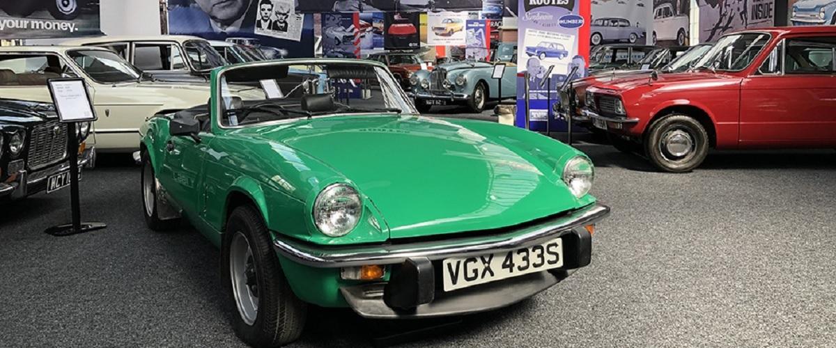 Great British Car Journey, a aglomeração da maioria dos automóveis de produção britânica