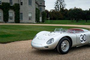 Porsche 718 RSK com grande história nacional procura novo proprietário