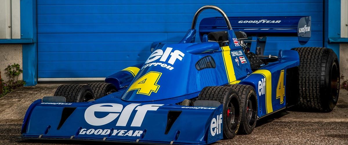 RM Sotheby's tem à venda Tyrrell P34 Continuation por mais de dois milhões de euros