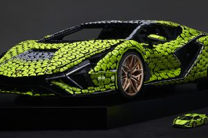 LEGO constrói Lamborghini em tamanho real