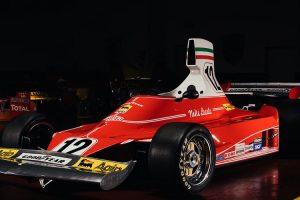 Modelo estático do Ferrari 312T de Niki Lauda está à venda