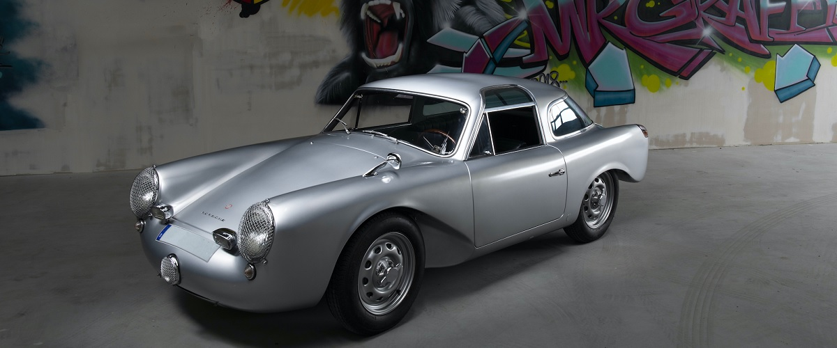 O único Glöckler-Porsche 356 Carrera 1500 Coupe produzido vai a leilão