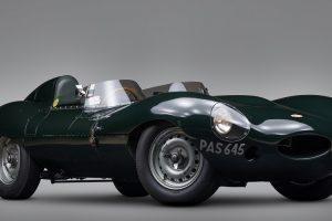Vai a leilão Jaguar D-Type com grande histórico de vitórias