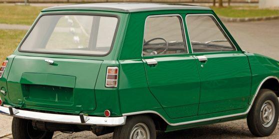 Simca 936, o protótipo que falhou em rivalizar com  o Mini