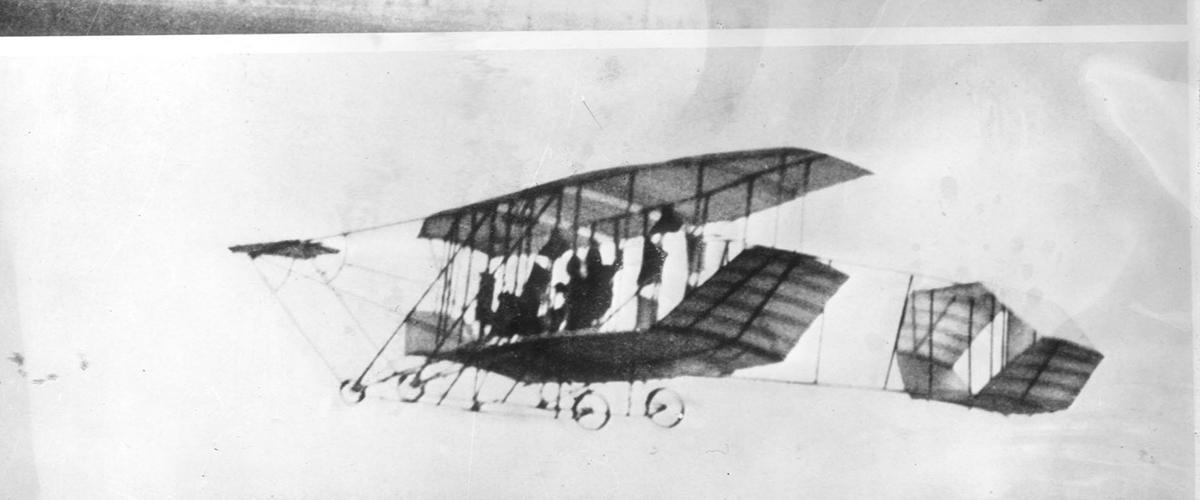 O primeiro avião A.L.F.A.