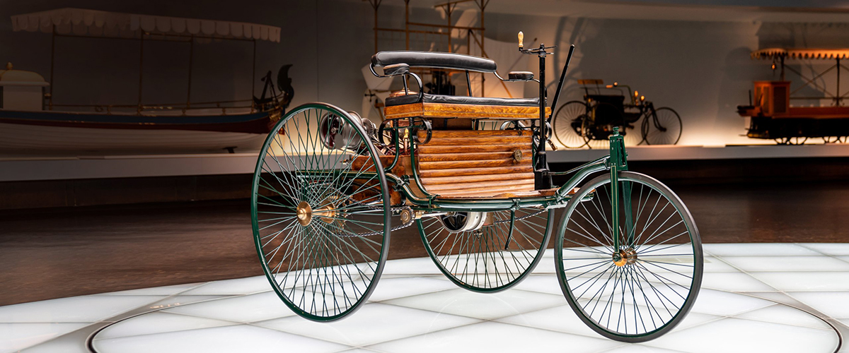 Caramulo Motorfestival assinala 135 anos da invenção do automóvel com Benz Dreirad