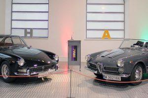 """Exposição """"Automoción y Diseño Italiano"""" no Museu de História Automóvel de Salamanca"""