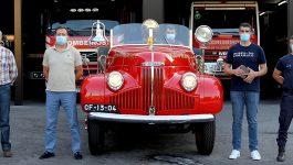 Museu do Caramulo certifica Studebaker dos Bombeiros de Arcos de Valdevez
