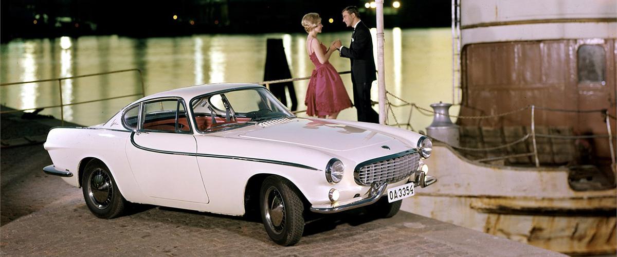 Os 60 anos de história do Volvo P1800