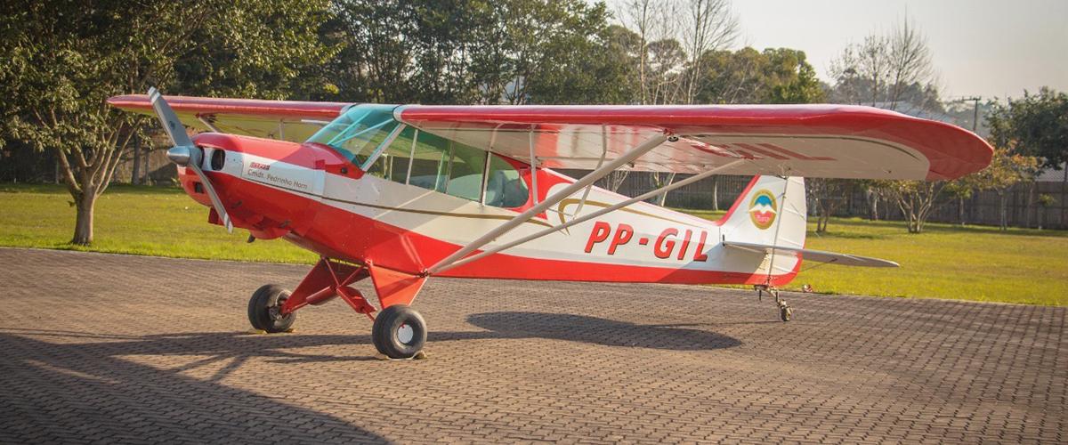 O meu primeiro vôo