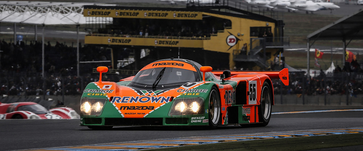 O aniversário de 30 anos da vitória da Mazda nas 24 Horas de Le Mans de 1991