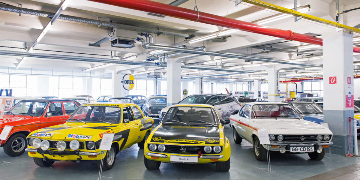 Museu Opel Classic disponibiliza visitas temáticas virtuais
