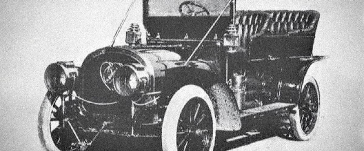 Carter Two-Engine Car o automóvel de 1907 equipado com dois motores
